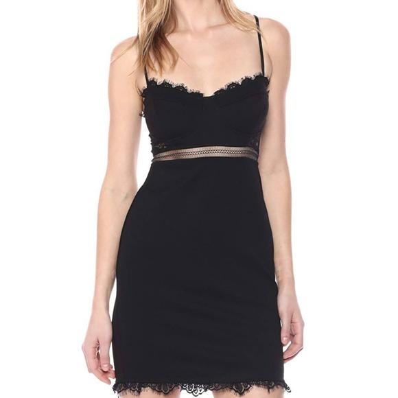 Astr Dresses & Skirts - ASTR the Label sexy mini Club dress black bodycon